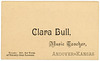 Clara Bull, Music Teacher, Andover, Kansas, ca. 1880s