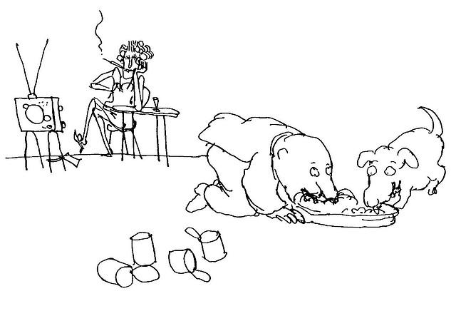 Feministino karikaturo de Ungerer)