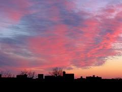 """""""Fiery Evening Sky"""""""