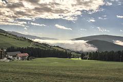 Wolken über dem Pustertal