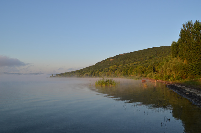 Бакотский залив, Утренний туман / The Bay of Bakota, Morning Fog