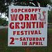 Worm Gruntin'