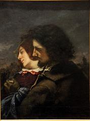 Les amants heureux - Gustave Courbet