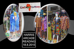 Harris Arcade - Continent Clothing - Reading - 18.8.2015
