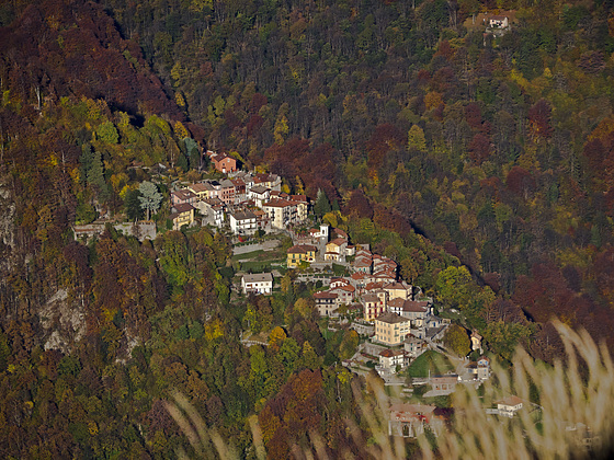 #17 The colors of the Oriomosso village among those autumnal - The photo i dedicate it to all those wonderful villages destroyed by the earthquake, in wishing that they can return more beautiful than before.