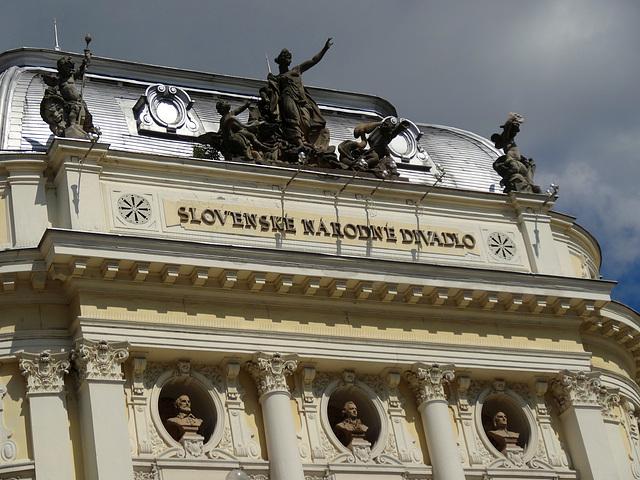 Bratislava  Slowakisches Nationaltheater