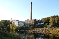 Die Horster Mühle am Ruhrufer (Essen-Burgaltendorf) / 25.09.2016