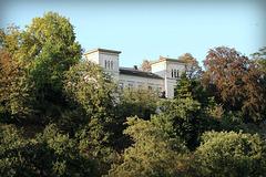 Blick auf die Villa Vogelsang (Essen-Burgaltendorf) / 25.09.2016