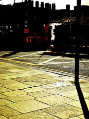 Street Scene. Christmas Day