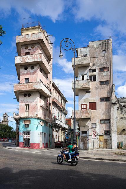 skyscraper Havana-style