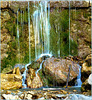 Sauze d'Oulx - piccola cascata di acqua di sorgente - (731)