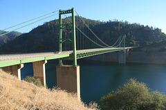 Bidwell Bar suspension bridge
