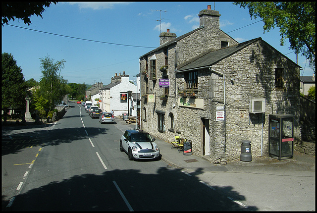 coming into Holme
