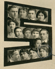 Heads of the Class of 1915, New Castle High School, New Castle, Pa. (Detail)