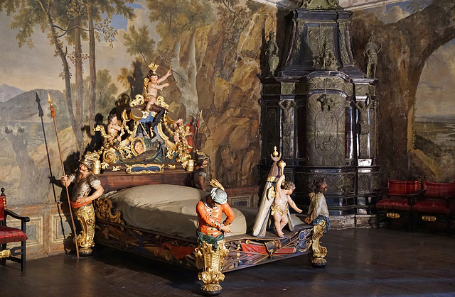 Das Türkenbett in St. Florian - The Turkish bed in St. Florian
