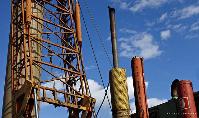 metal towers