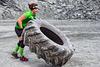Spartan Race - Reversing A Tire