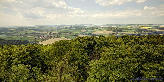 View from Blaník 5