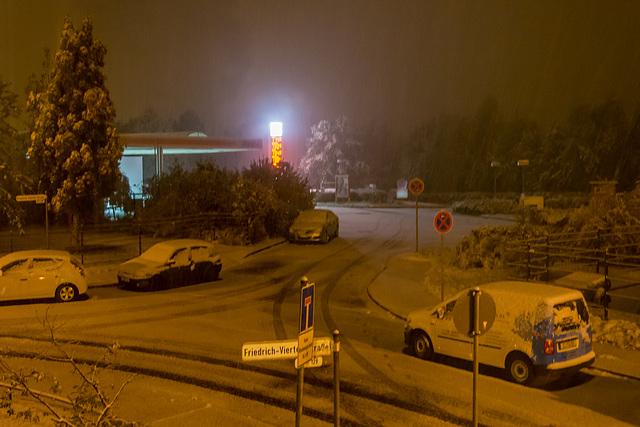 (287/365) Wintereinbruch in Chemnitz, 14.10.2015
