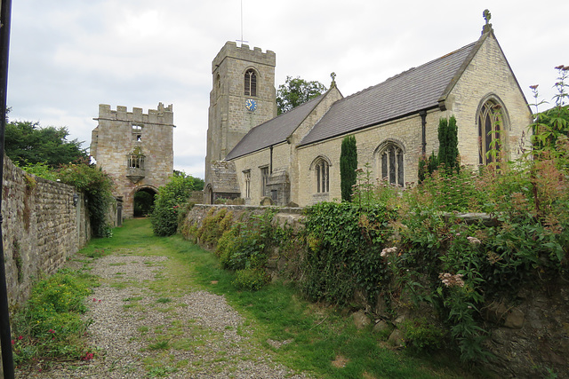 west tanfield church, yorkshire