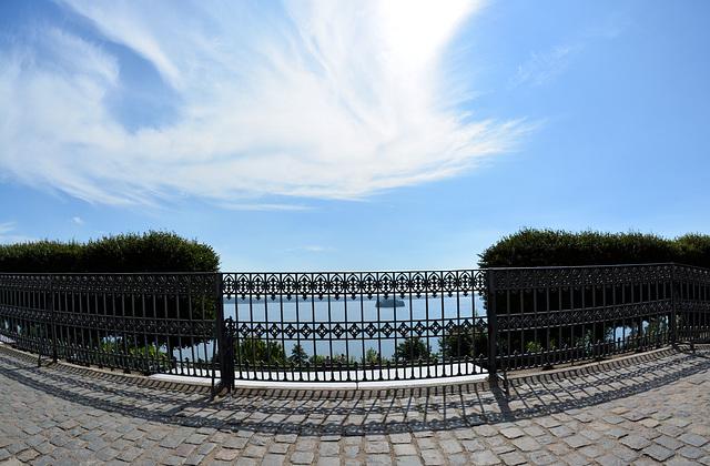 HFF:  Plöner See von der Schlossterrasse