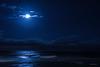 Noches de azul saten.