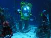 Lego Under-water Sculptures