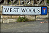 West Wools street sign