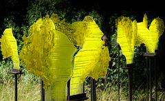Installation in Gelb - Installation in Yellow