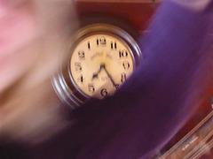 ... die Zeit läuft davon ...