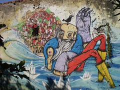 """""""Lusíadas"""" mural (IV)."""
