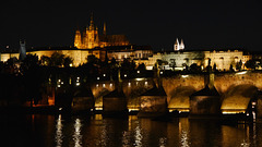 Prag bei Nacht / Prague at night