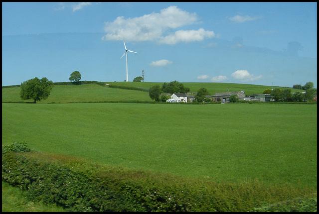Greenlands Farm wind turbine