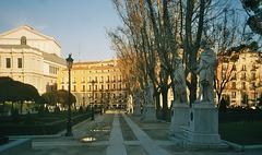 ES - Madrid - Plaza del Oriente