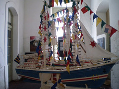 Sail boat for the festivities of Saint John the Baptist.