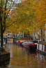 the canal in autumn