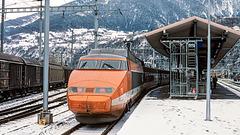950000 Brig TGV neige