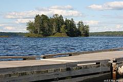 Looking Across Gardner Lake