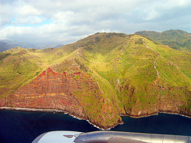 Landeanflug. Madeira. 200603