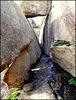 Narrow granite corridor, Sierra de La Cabrera