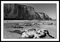 Falaise et débris de falaise