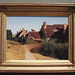 Houses Near Orleans by Corot in the Getty Center, June 2016