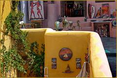 Santorini : Bottega d'arte ad Oia - (1000)