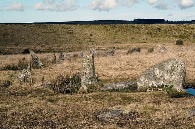 Cornwall - Stannon stone circle