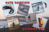 Kite surfing Seaford Bay 30 12 2013 G