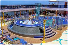 Costa Atlantica : le piscine