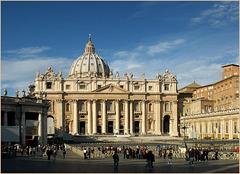 St. Peter's Basilica, Rome...