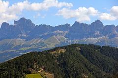 Blick von St. Helena auf den Rossengarten