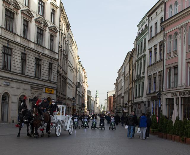 Poland, Krakow Rynek Główny  (#2287)
