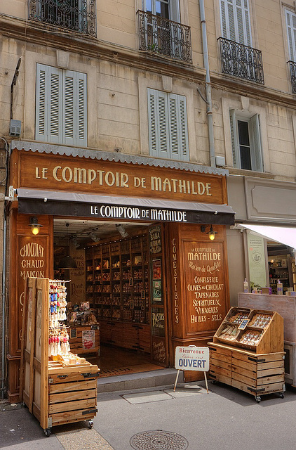 Aix en Provence, Süßstoff ohne Ende